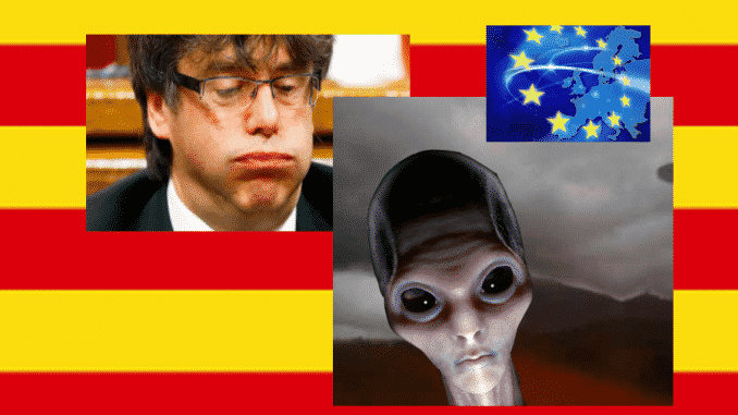 Puigdemont en la unión europea