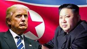 Trump enfrentado a Korea del Norte