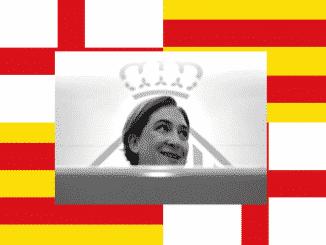 Ada Colau alcaldesa de Barcelona y politíca catalana
