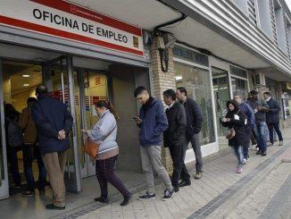 วิกฤติและการอพยพในสเปนสำนักงานการจ้างงาน
