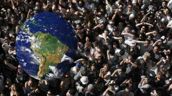 Mundo: continentes con exceso de contenido