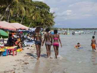 Les prostituées sur les plages des Caraïbes
