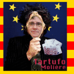 "Puigdemont ပြဇာတ် Tartuffe မြင်ကြလျှင်, ဖြစ်ကောင်း M.Rajoy ""Molière"" ရှည်လျားမတိုင်မီရေးထားပြီမယ်လို့"