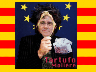 """Si Puigdemont hubiese visto la obra de Tartufo, probablemente M.Rajoy """"Molière"""" la habría escrito mucho antes"""