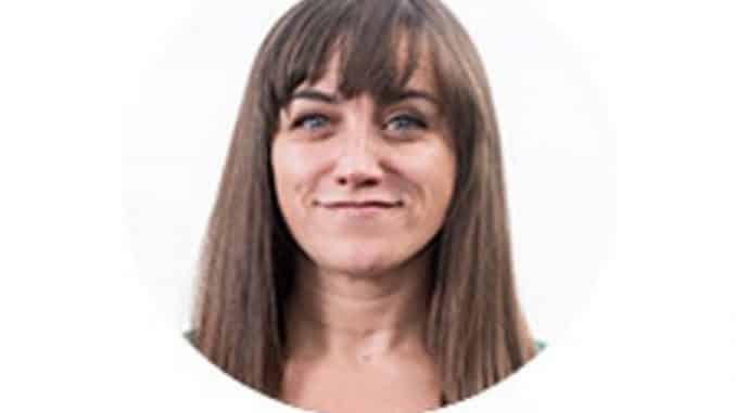 Eva Belmonte, una joven periodista ejemplo de madura profesionalidad