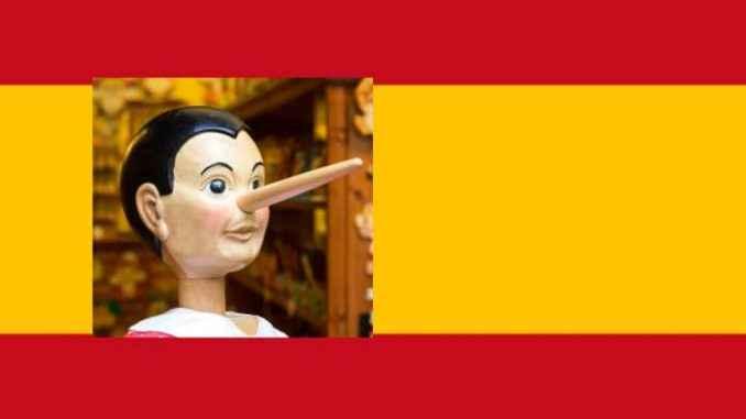 Si el gobierno español miente a un diputado, extiende su falsedad al resto de la ciudadanía