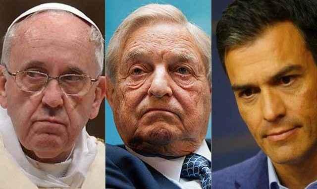 George Soros y Pedro Sánchez, otra versión sobre la invasión europea