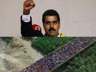 भेनेजुएला एक्सोडस एक जिम्मेदार छ: निकोलस मडुरो मोरोस
