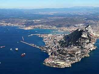 """Zwischenfall in spanischen und britischen """"gemeinsamen"""" Gewässern, worauf der gibraltarische Premierminister ausgreift, um noch einmal auf sich aufmerksam zu machen"""